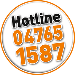 Unsere Hotline 04765-1587